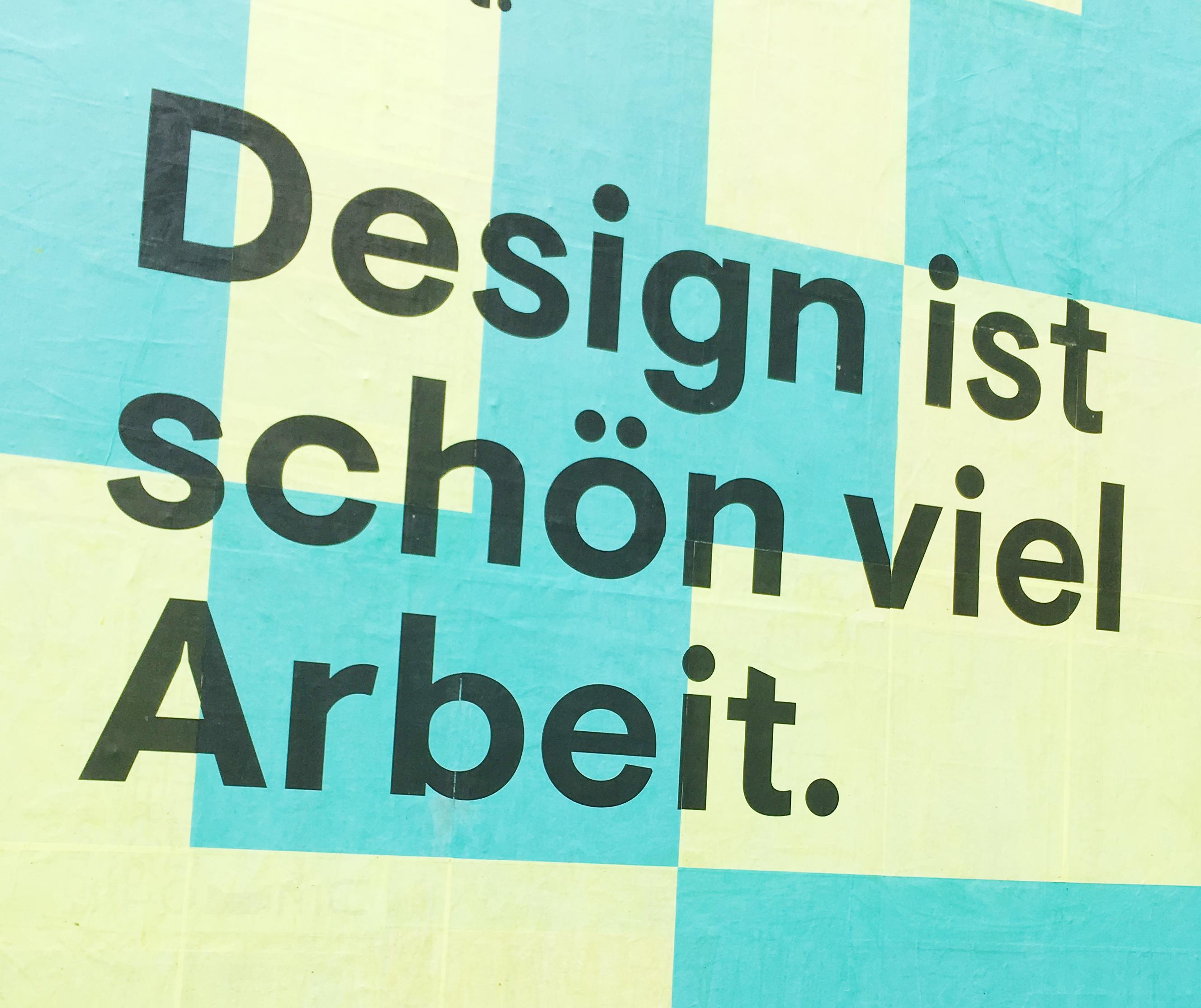 Text für Plakat Designfestival Progr Bern 2017
